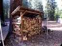 Lodge Pole Pine Woodshed